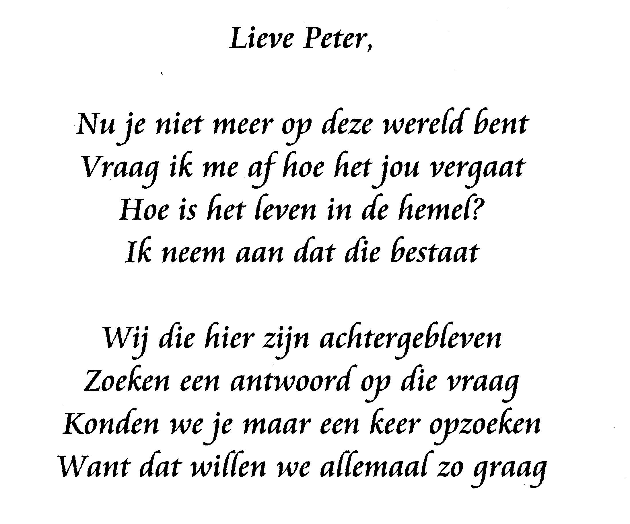 gedicht-peter